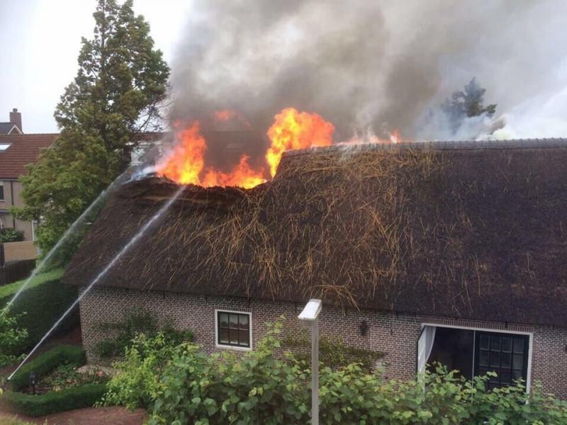 P2 Gebouwbrand aflossing Hoofdstraat Sassenheim
