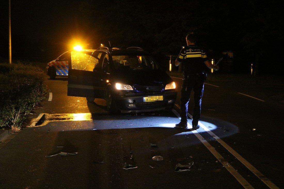 Ongeval auto scooter Schelftweg Noordwijkerhout
