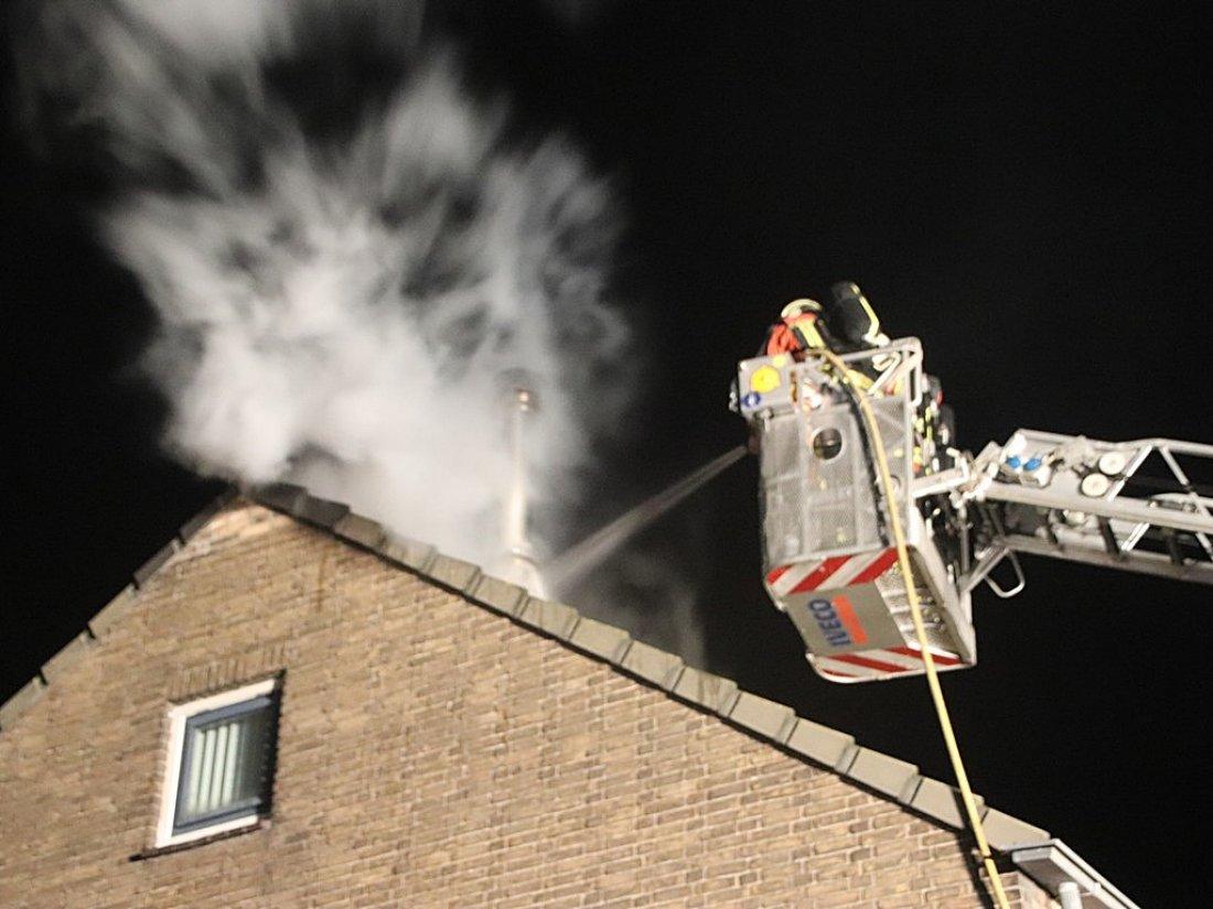Woningbrand ontdekt door voorbijgangers 's Gravendamseweg Noordwijkerhout