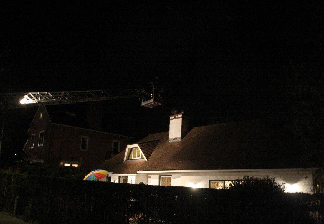 Woningbrand Oude Zeeweg Noordwijk