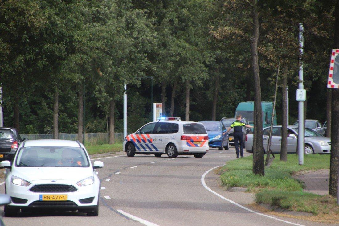 Botsing Haarlemmerstraat Hillegom