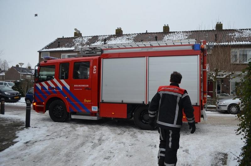 Brandgerucht Van Slogterenhove 5 Sassenheim