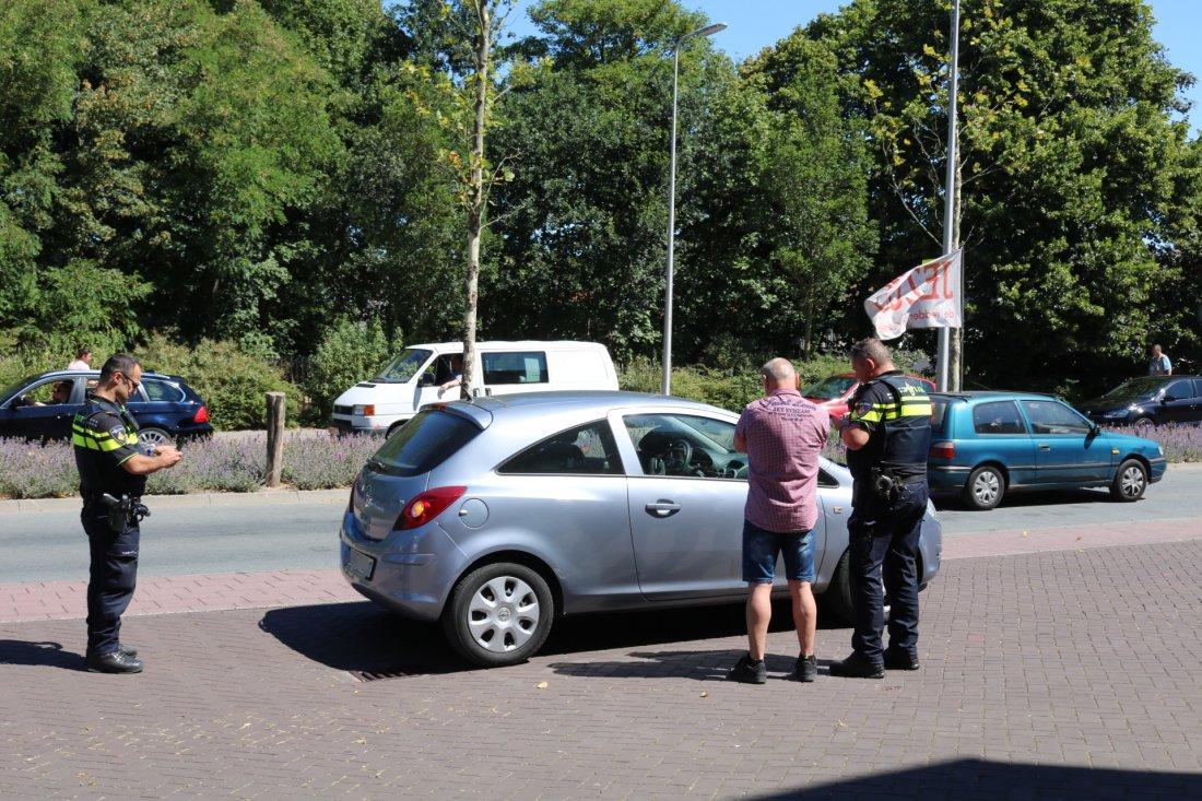 Wielrenner aangereden Victoriberg Noordwijkerhout