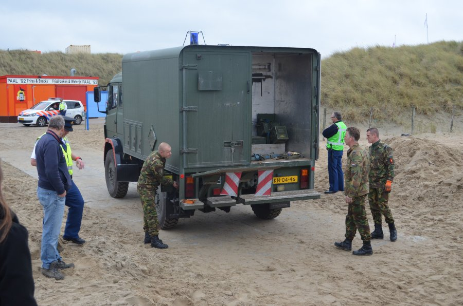 Britse 500 ponder tot ontploffing gebracht op strand Wassenaar