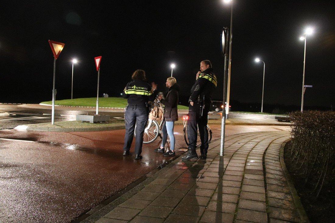 Ongeval elektrische fietsen Van Berckelweg N444 Noordwijk