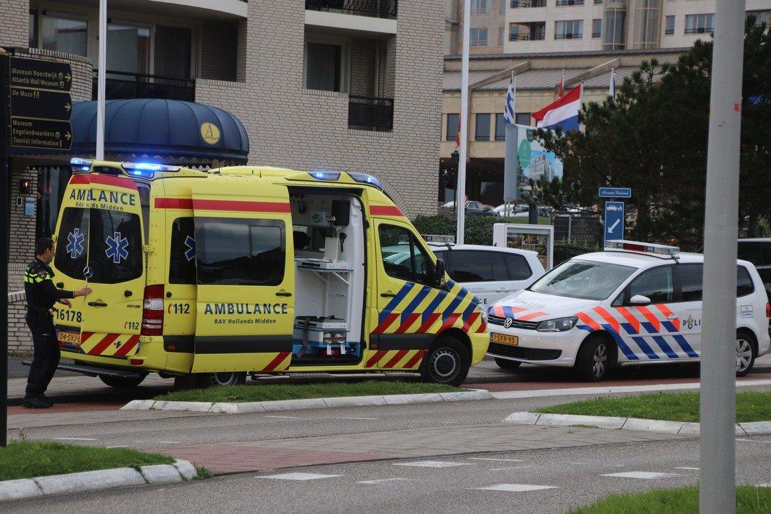 Medische noodsituatie in Alexander Hotel