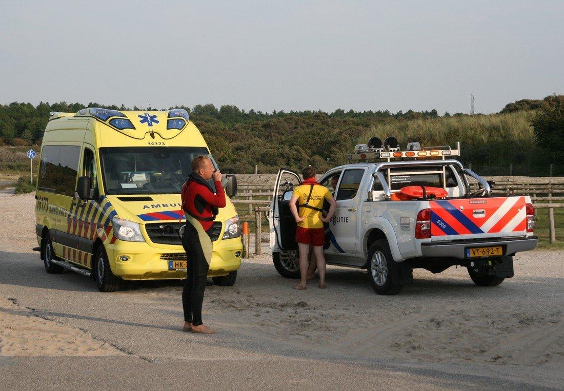 Zwemmers in problemen Duindamseslag Noordwijk