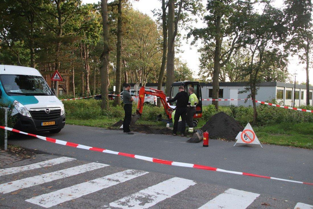 Gaslekkage Rechthoeklaan Noordwijk