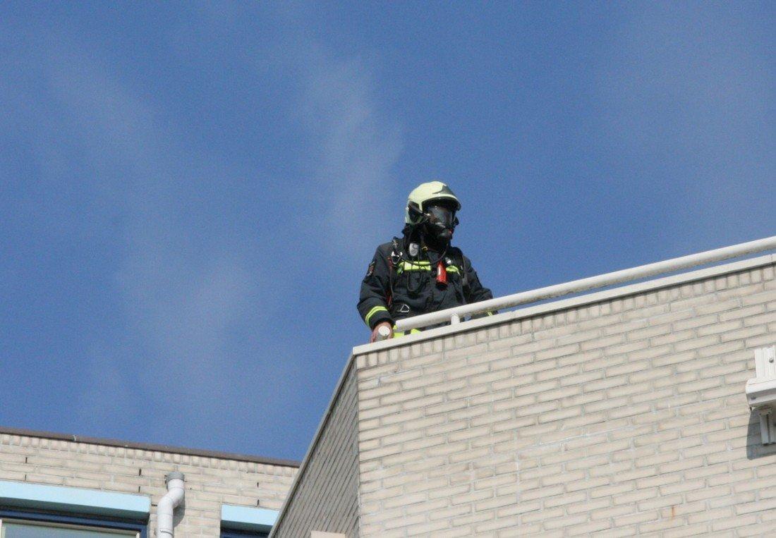 Middelbrand Piersonstraat Katwijk