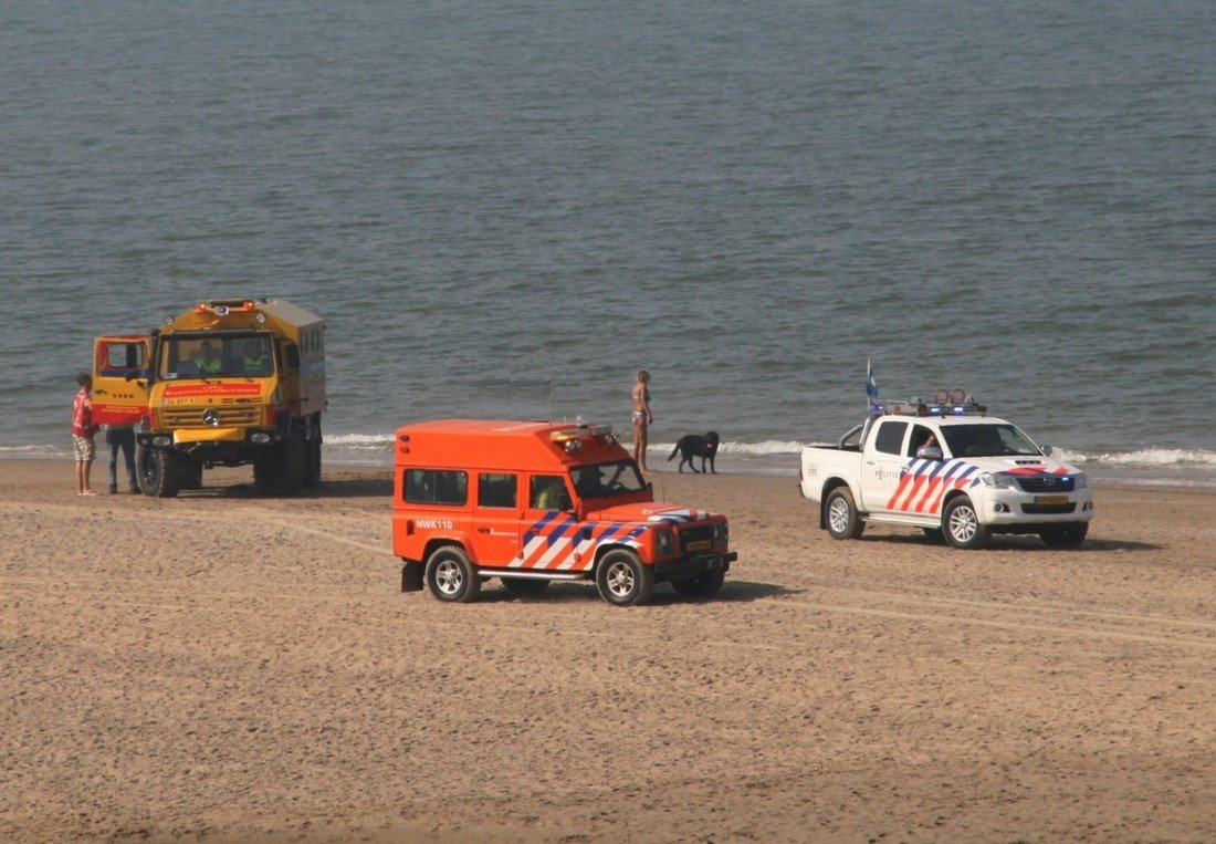 Inzet NRB strand Noordwijk