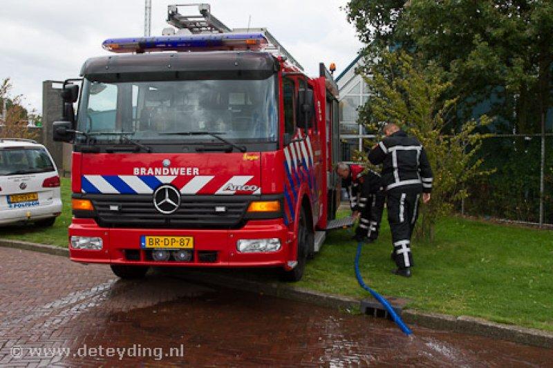 Wateroverlast Wasbeek Van Alkemadelaan 12 Sassenheim