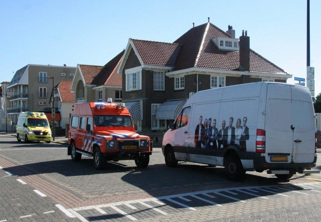 Inzet NRB Koningin Astrid Boulevard Noordwijk