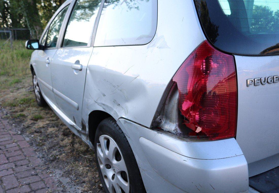 Ongeval auto/motor Carolus Clusiuslaan N443 Sassenheim