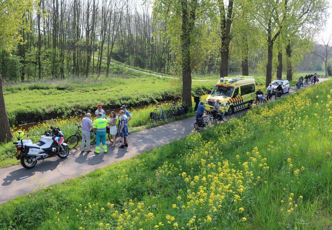 Fietser gewond na ongeluk Sassenheim