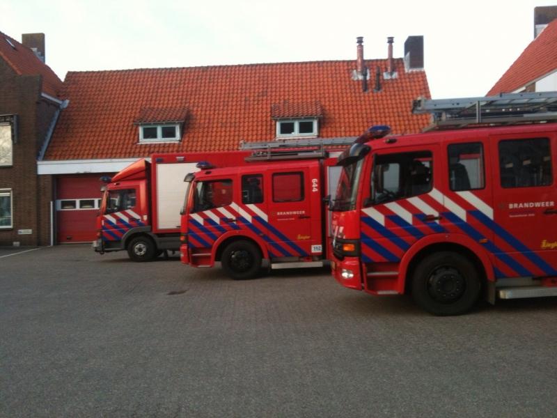 P 2 Buitenbrand container (VK: 2) Industriekade Sassenheim