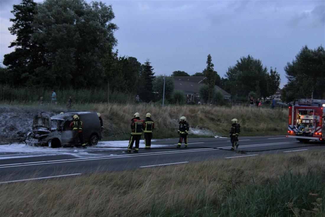 Voertuigbrand N206 Ir. G.Tjalmaweg Valkenburg