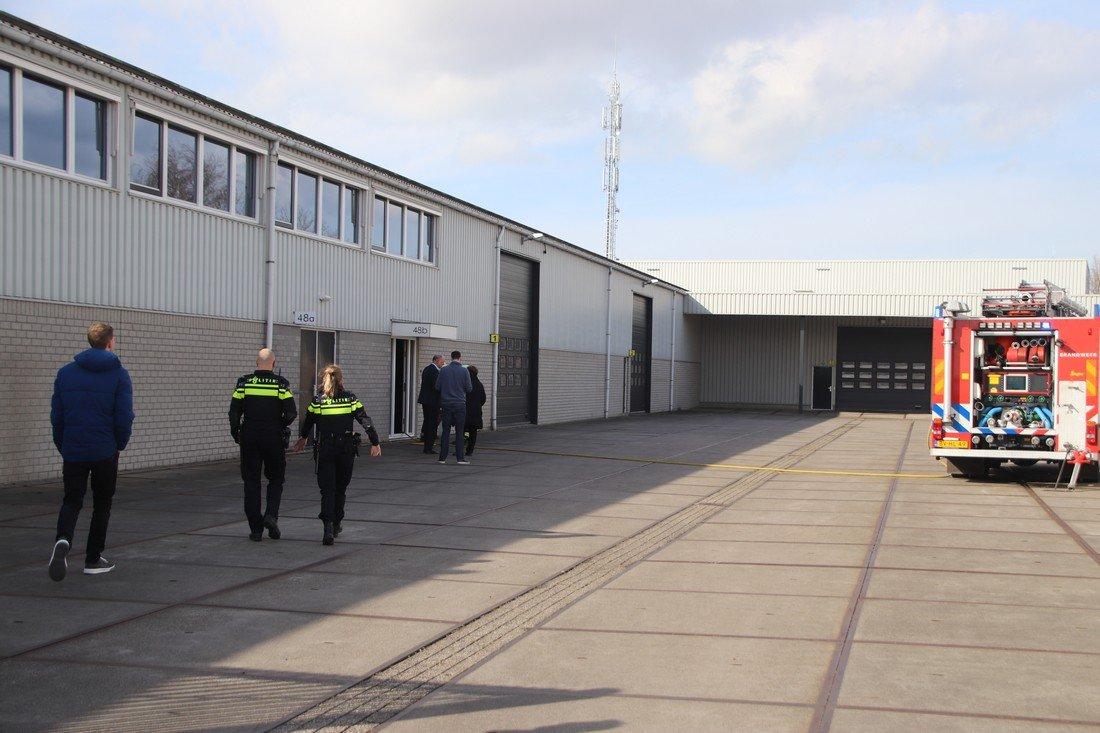 Binnenbrand Delfweg Noordwijkerhout