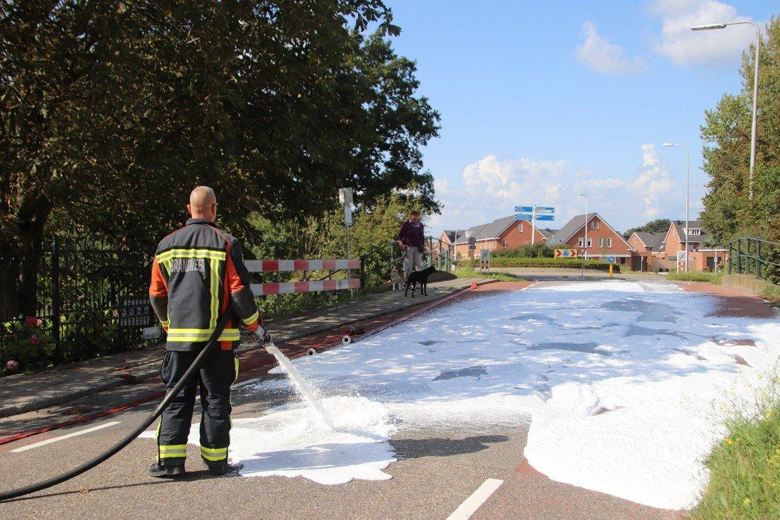 Woningbrand 3e Loosterweg Hillegom