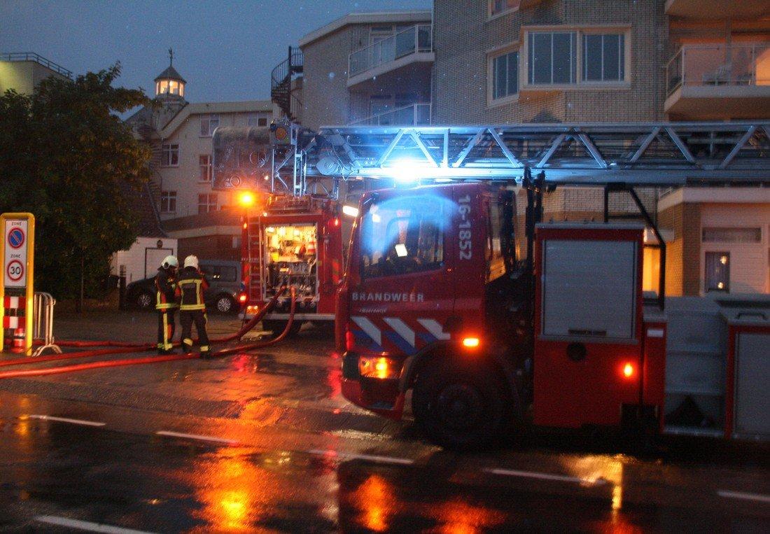 Woningbrand Noordzeestraat Noordwijk