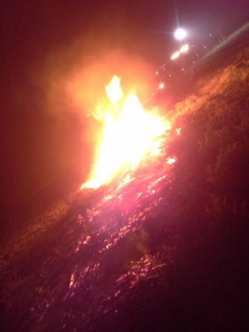 P 1 Gebouwbrand industr./agrarisch Oude Herenweg 20 Voorhout