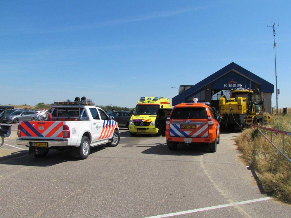 Assistentie ambulance voor de KNRM Katwijk