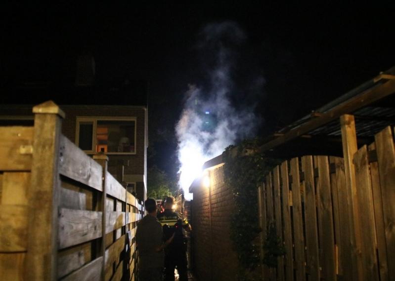 P1 Brand bijgebouw Baanbrekersweg Sassenheim