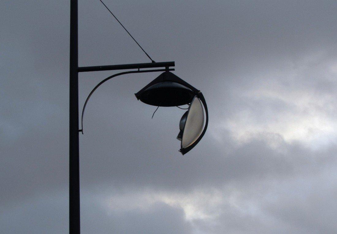 Stormschade Koningin Wilhelmina boulevard