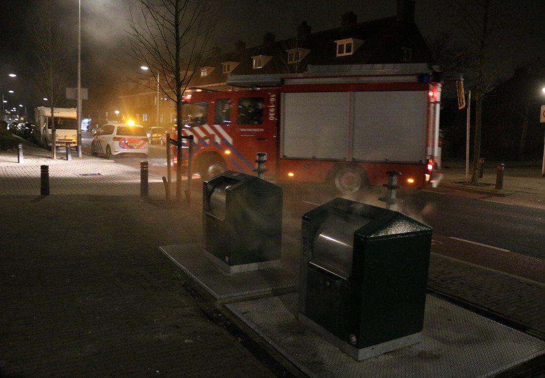 Containerbrand Viaductweg Noordwijkerhout