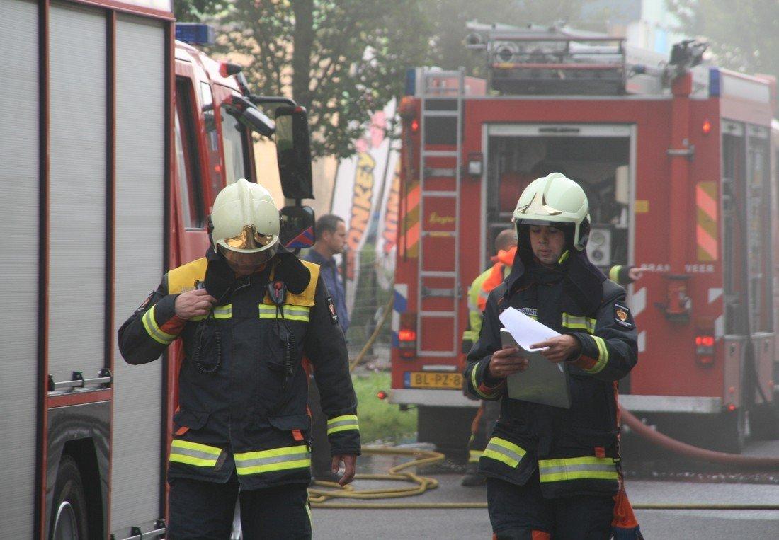 Grote brand Dekker Hout Warmond