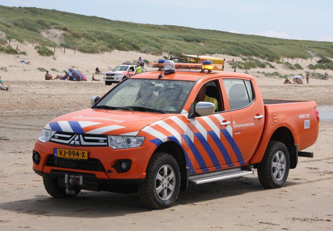 Grote zoekactie naar vermiste vrouw op zee en het strand van Noordwijk