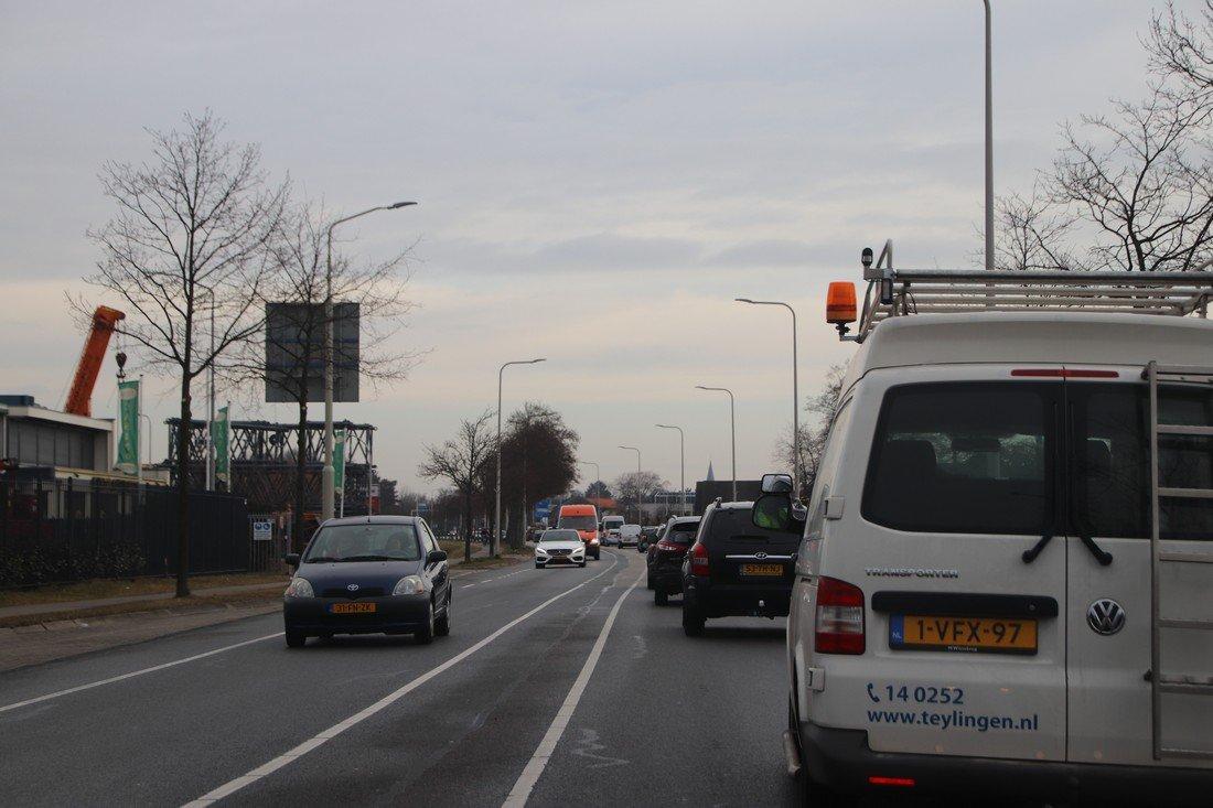 Ongeval meerdere auto's A44 10,5 L Sassenheim