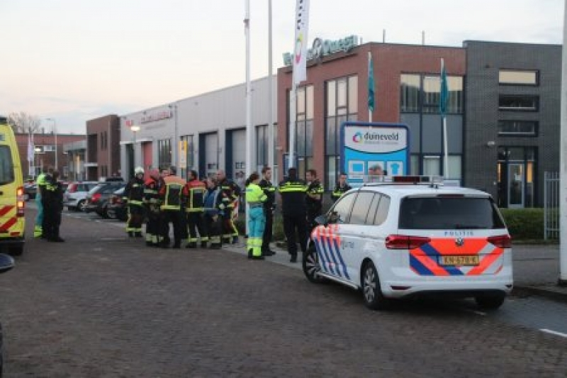 P1 Persoon te water Industriekade Sassenheim