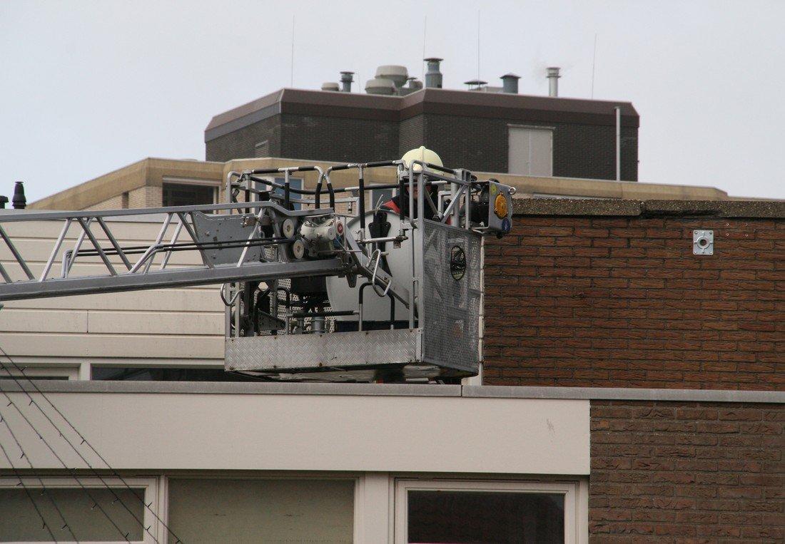 Stormschade Nicolaas Barnhoornweg Noordwijk