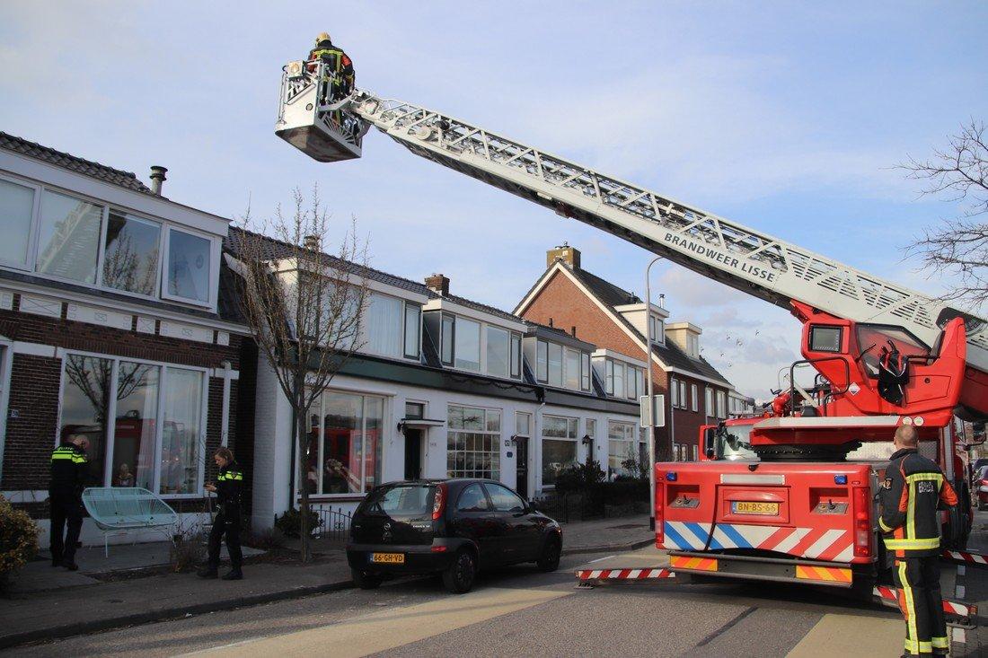 Schoorsteenbrand 2e Loosterweg Hillegom