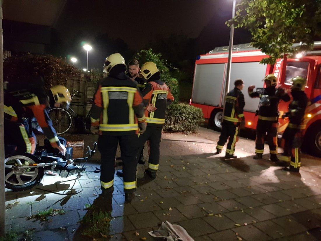 Voertuigbrand Duinsloot Noordwijkerhout