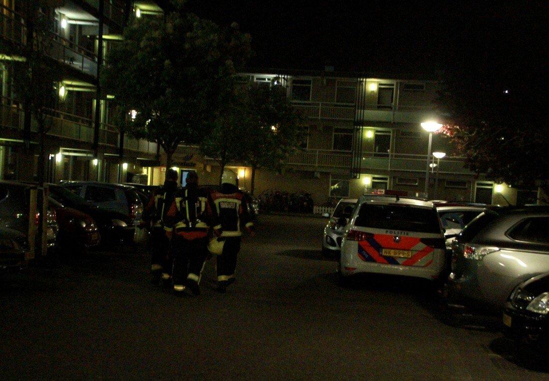 Brandgerucht Springtij Noordwijk