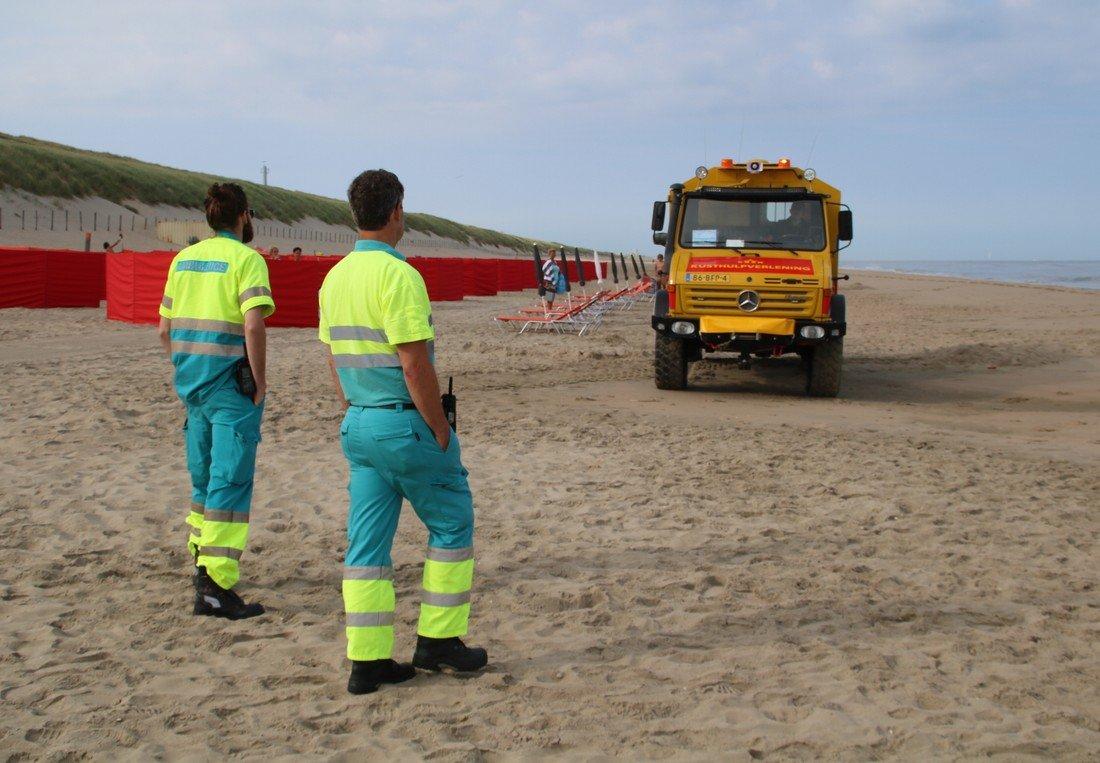 Zwemmer vermist Langevelderslag Noordwijk
