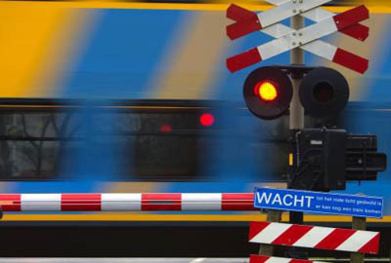 Spoorvervoer aanrijding letsel  Stationsweg Lisse