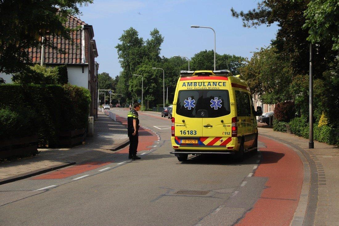 Politieagent aangereden op Rijnstraat Katwijk