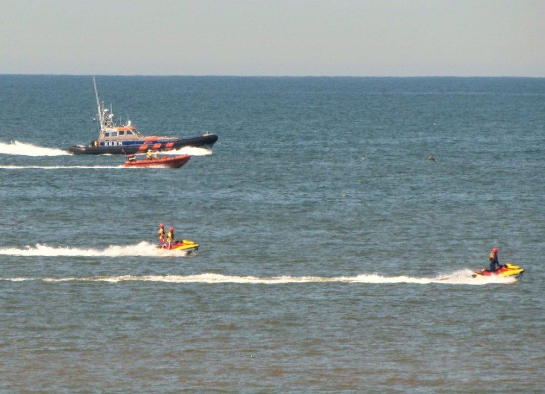 Zoekactie vermiste zwemmer Katwijk