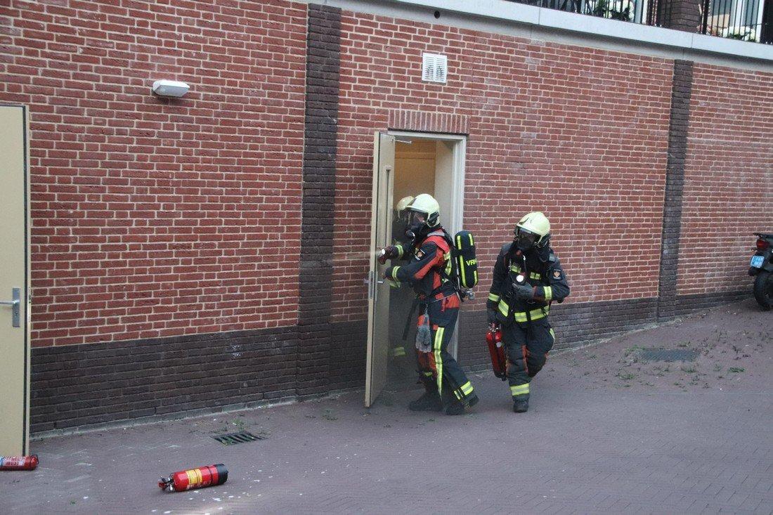 Brand in berging Keurmeesterhof Rijnsburg