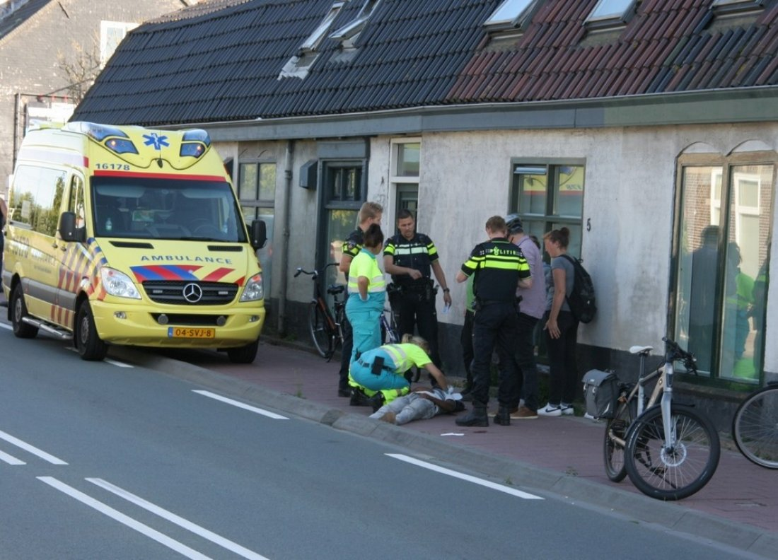 Ongeval 's-Gravendamseweg  N443 Noordwijkerhout