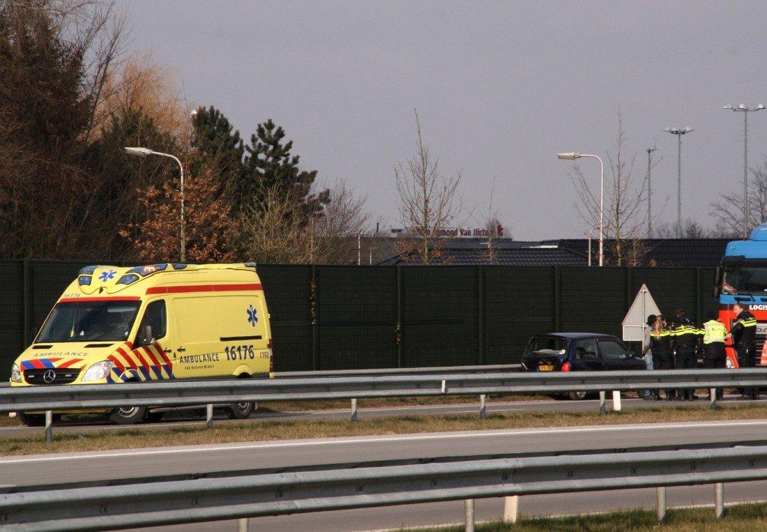 Ongeval N206 Noordwijk/Katwijk