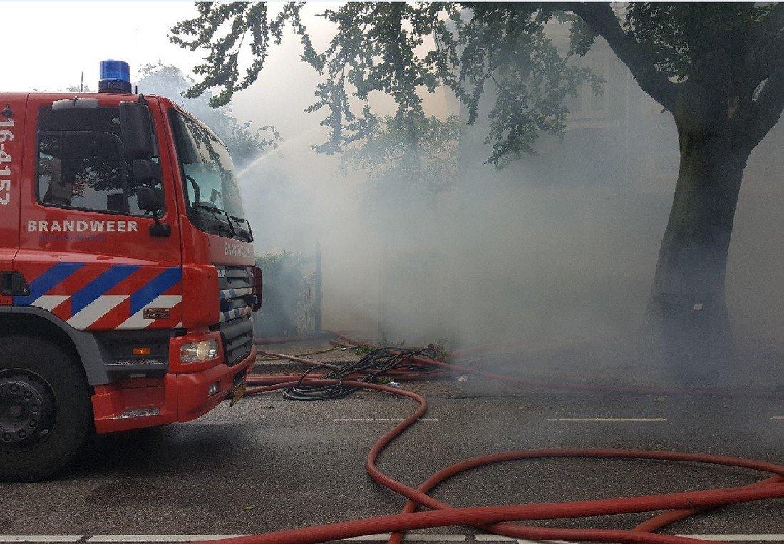 Zeer grote brand Hoofdstraat Sassenheim