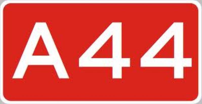 Brand wegvervoer A44 L 2,0 Nieuw Vennep