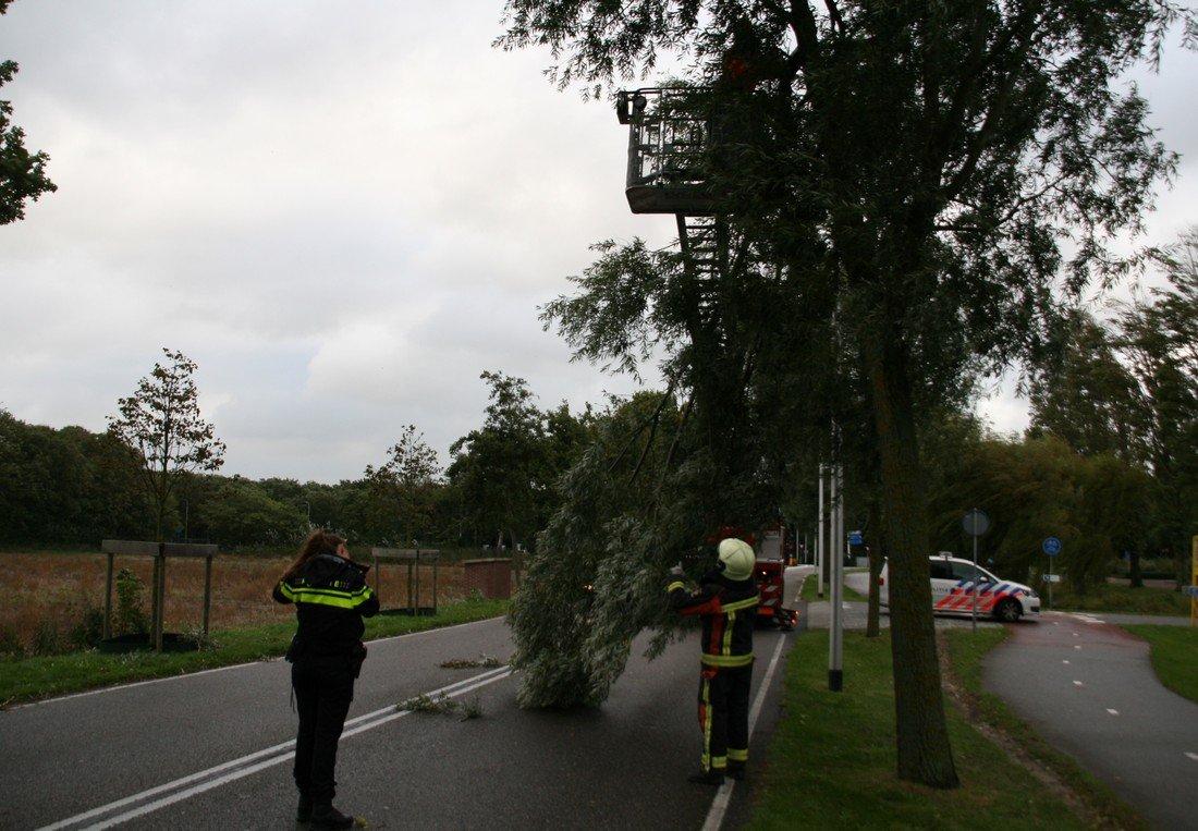 Stormschade Northgodreef Noordwijk