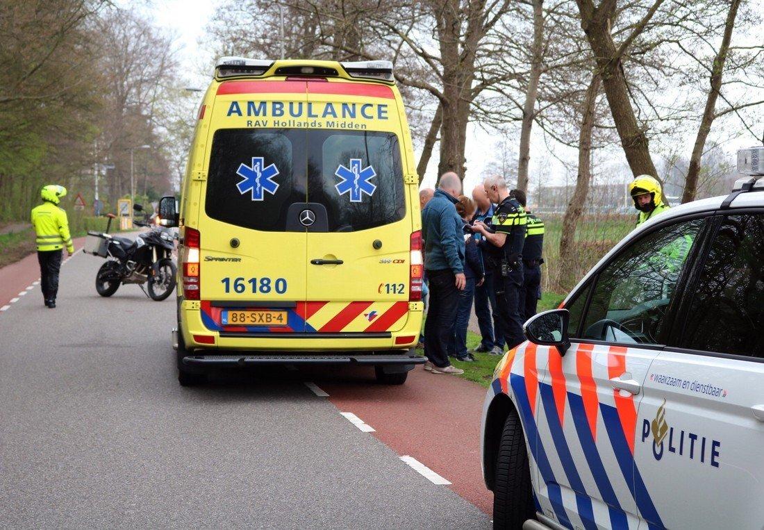 Ongeval van Lyndenweg/Stationsweg Lisse