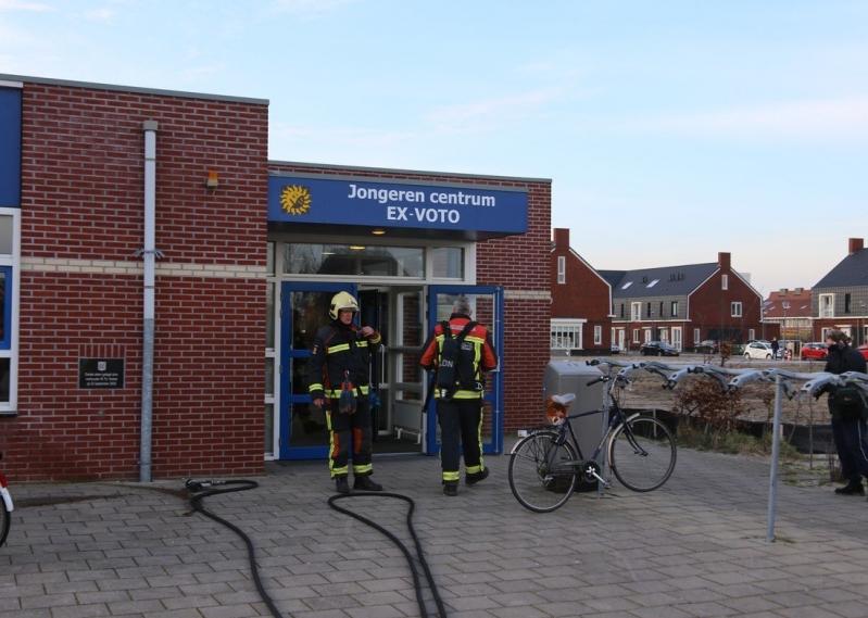P1 Gebouwbrand Jongerencentrum Jacoba van Beierenweg Voorhout