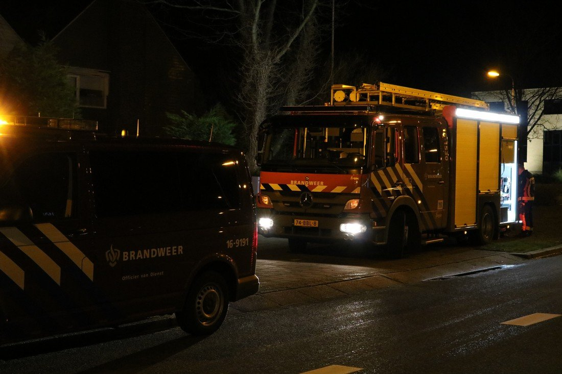 Gaslekkage Rijnsburgerweg Rijnsburg