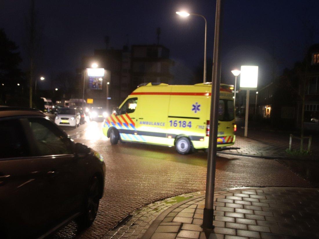 Voetganger aangereden op zebrapad Rijnsburg